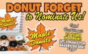 Maple Donuts - Best of York!